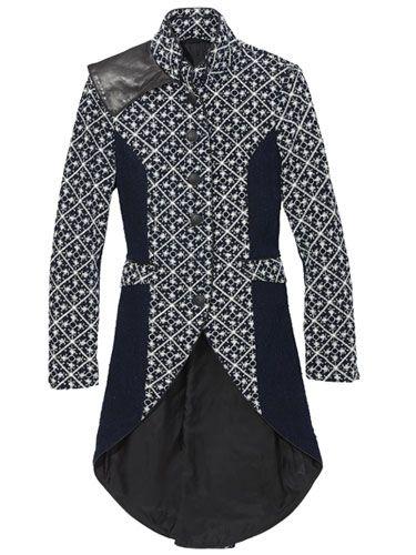 Rag & Bone coat - could be use with Indonesian Batik motif...^^