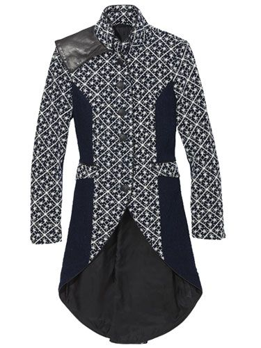 Rag & Bone coat - could be use with Indonesian Batik motif...^^