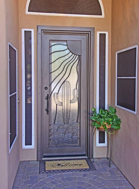Resultado de imagen para puertas rusticas de herreria - Puertas de herreria ...