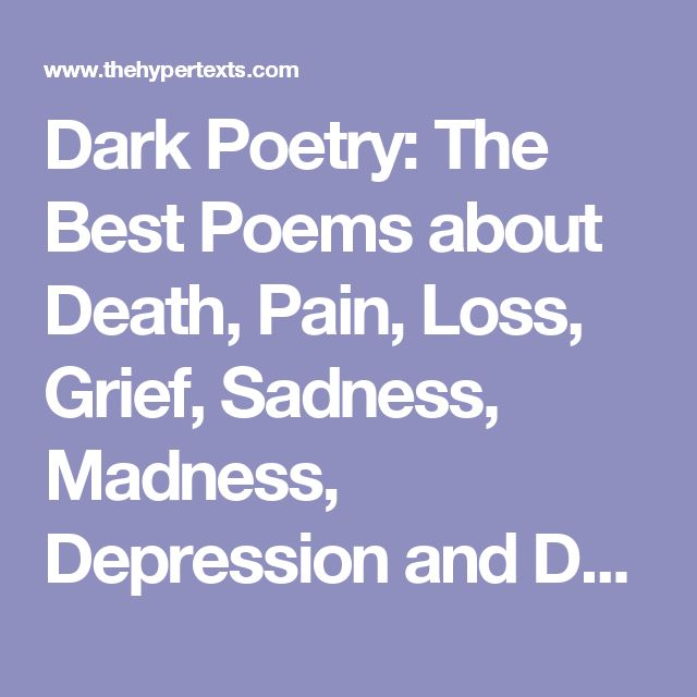Persona Poem Depression – Quotes of the Day