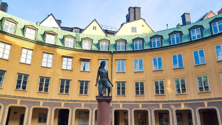 Statue called Morning in Stockholm