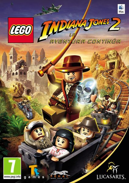 Mac Digital Download - LEGO Indiana Jones 2: The Adventure Continues. Instant game code available to buy now!