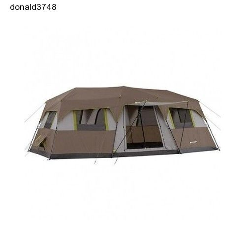 Pop Up Cabins : Person room instant cabin pop up camping tent outside