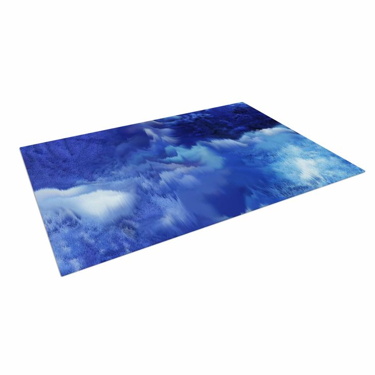 Make your outdoor patio your oasis with these Indoor / Outdoor Floor Mats! The polyester blend top makes for a long lasting, non slip, fade proof artistic edge