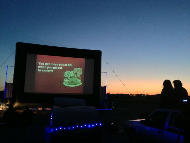 The Home of the Blue Starlite Drive-in - Austin drive in :)