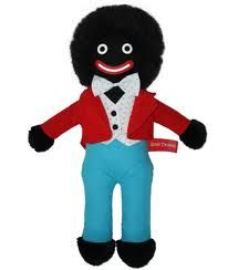 To me - in the 70's.. Golly was just another cuddly toy.. and I loved him :)