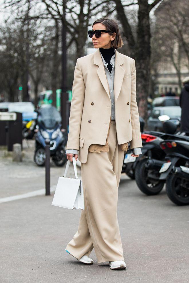 Street style a la Fashion Week automne,hiver 2018,2019 de Paris 167