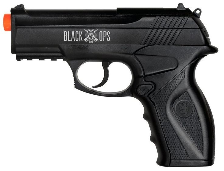 New Black Ops Co2 Boa Airsoft Pistol Fires 400-FPS with 20 round clip #BlackOps