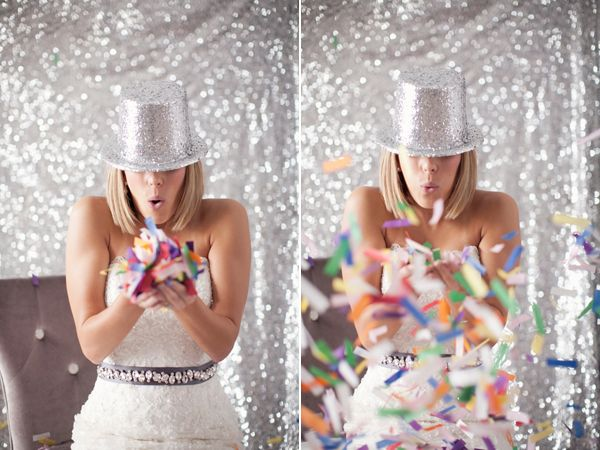 confetti: Diy'S Backdrops, New Years Eve Weddings Dresses, Events Beaux, Photography Backgrounds, Belle Blog, Party Idea, Fabrics, Gorgeous Events, New Years Weddings