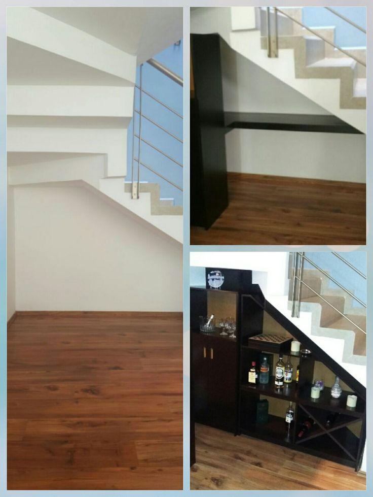 17 mejores ideas sobre estantes bajo las escaleras en for Cubre escaleras