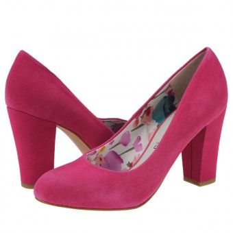 Pantofi casual dama Marco Tozzi pink suede