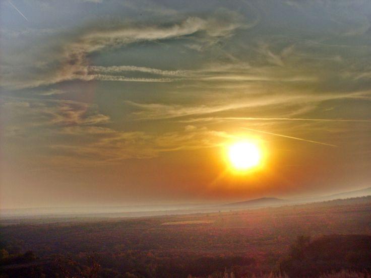 Mátra naplementekor :)