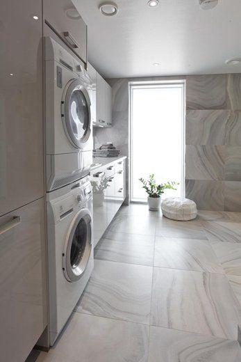 Lammi-Kivitalo Sampon kodinhoitohuoneessa on luxus tunnelma, lisää ideoita www.lammi-kivitalot.fi