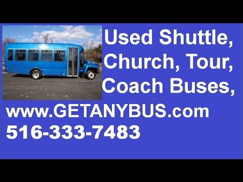Used Passenger Buses For Sale In Georgia by NY Dealership | 2006 Chevrolet C5500 Startrans 66K Miles Shuttle Limo Busses For Sale in GA | Call CHARLIE @ 516-333-7483 >>>