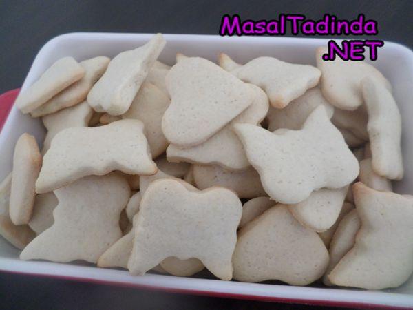 Şekilli bisküvi kurabiye