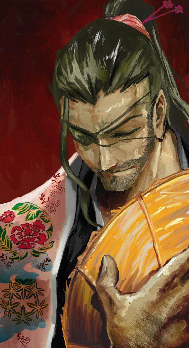Shunsui Kyoraku by MadArt939 on DeviantArt