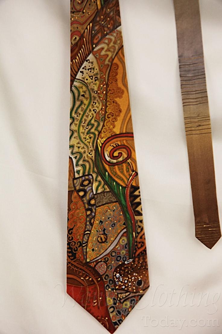 womenclothingtoday.com Silk Tie Gustav Klimt
