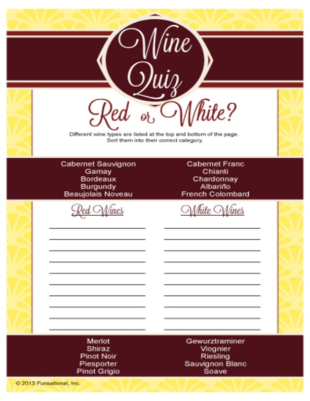 It is a picture of Simplicity Wine Tasting Games Printable