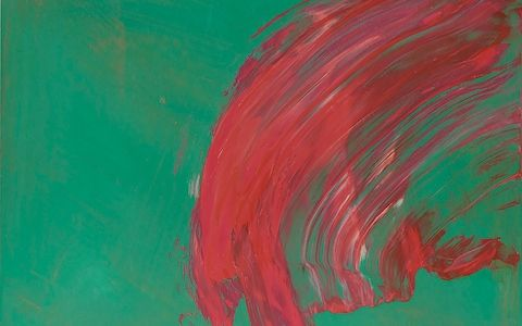 Over to You, 2015-17 CREDIT: HOWARD HODGKIN, COURTESY THE ARTIST AND GAGOSIAN