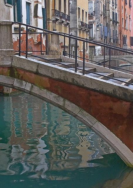 Cannaregio Bridge, Venice by Rita Crane