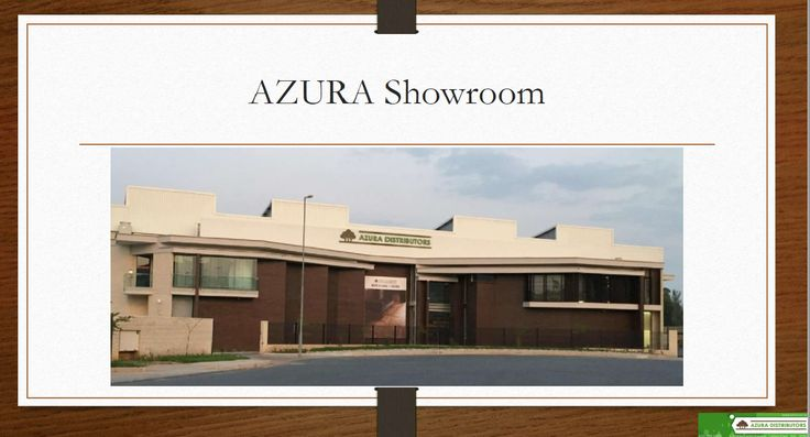 Visit our showroom  Azura has invested in a state of the art showroom where we welcome our dealers to bring your clients along to view our wide variety of ranges on display including LVT, Laminates, Engineered Wood, Bamboo, Vinyl Tiles, Vinyl Sheeting and accessories.   Showroom is open Monday - Friday from 7:30 to 17:00 and on Saturdays between 8:30 - 12:00 and conveniently situated in Linbro Business Park.   Looking forward to welcoming you   #AZURA