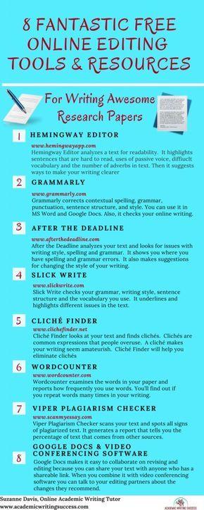 Online writing editing