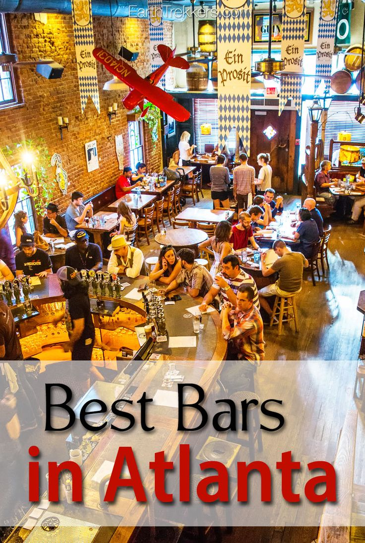 Atlanta, Georgia: the best bars to visit on your visit.