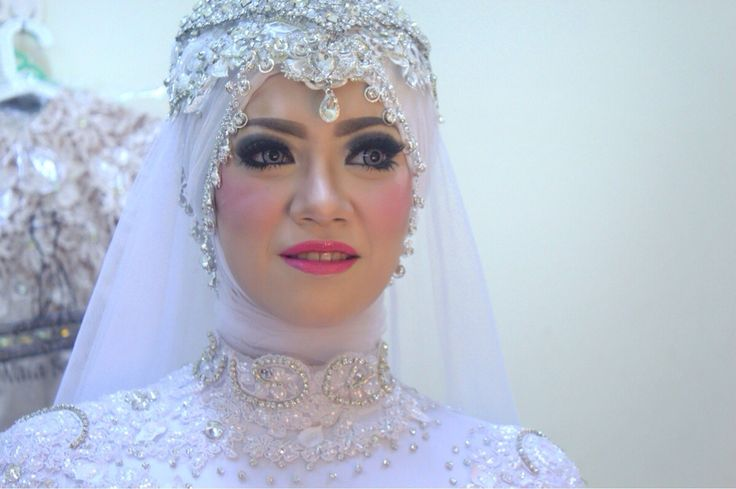 Hijab wedding #makeup wedding #bridal