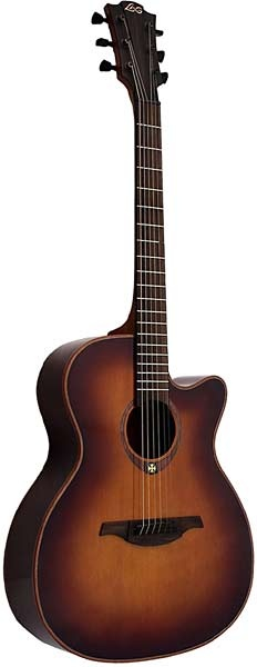 Lag Tramontane T100ACE Brown | Hobgoblin Music  £399  So beautiful, but expensive :'(
