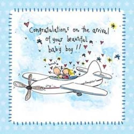 Congratulations baby boy message (Use as an e-card, or facebook