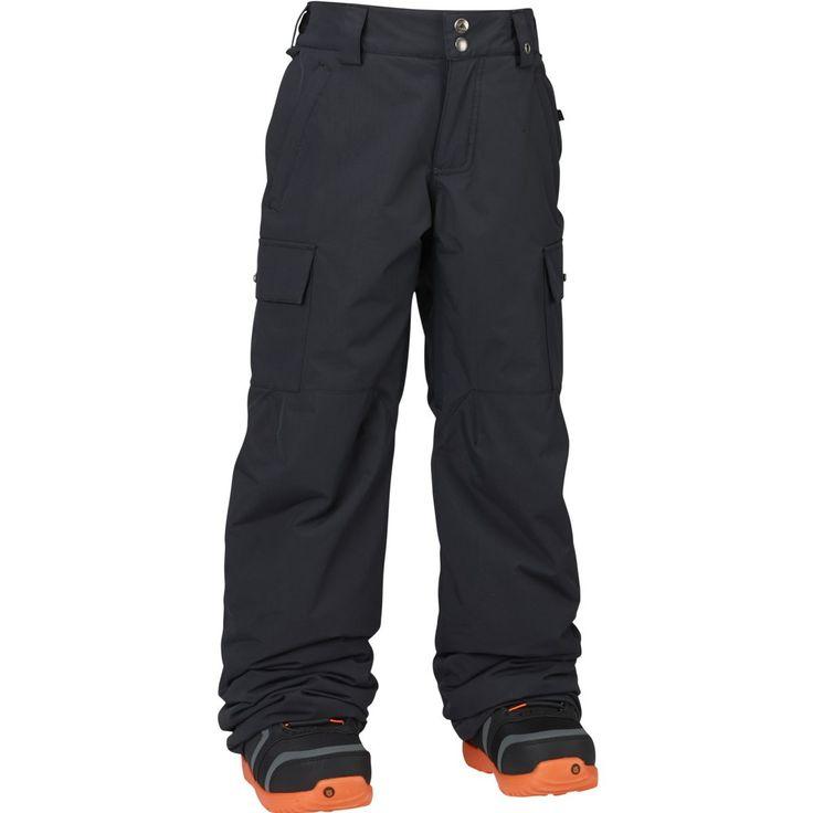 Exile Cargo Pant, snowboardbukse junior