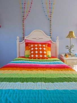 Rainbow Bedrooms Design Ideas, Pictures, Remodel, and Decor