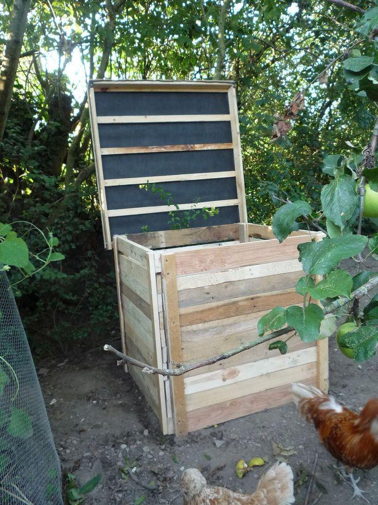 cool good idea for building a compost bin