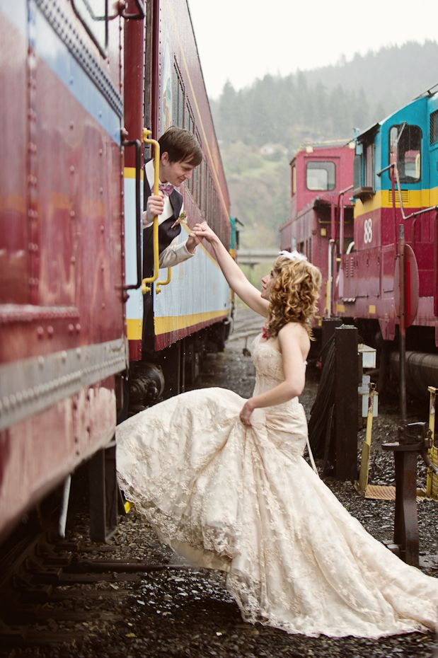classic bride: Victorian Train Station Wedding Inspiration Classic Bride: Polished Wedding + Daily Style