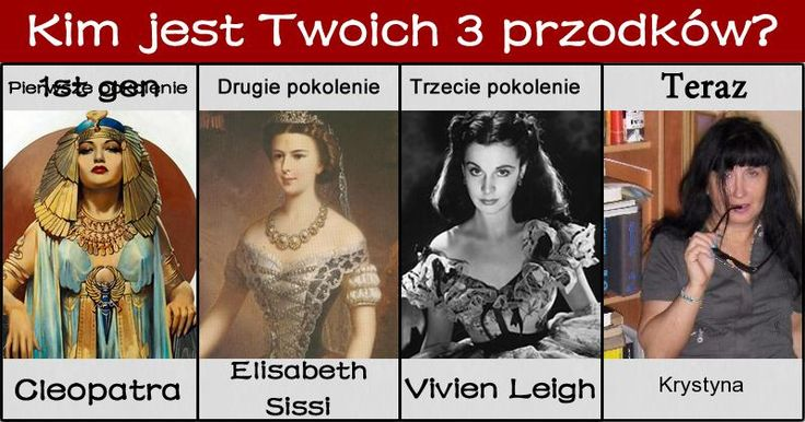 Kim jest Twoich 3 przodków?
