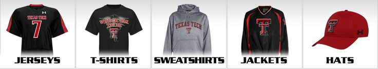 Because you can never have enough Tech Gear!! Shop for Texas Tech Jerseys and T-shirts at the official store of Texas Tech University where you can find our selection of Sweatshirts, Jackets and Hats.