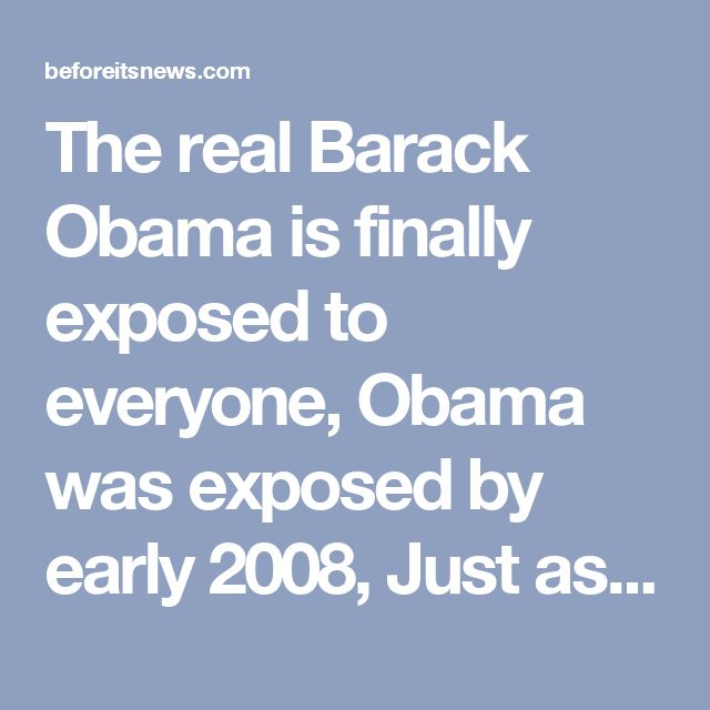 The real Barack Obama is finally exposed to everyone, Obama was exposed by early 2008, Just as in Nazi Germany and Adolf Hitler people only cared about hope and change | Obama Birthplace Controversy