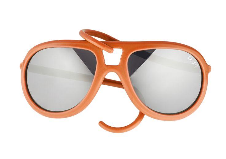 Orange - Mirror Lenses