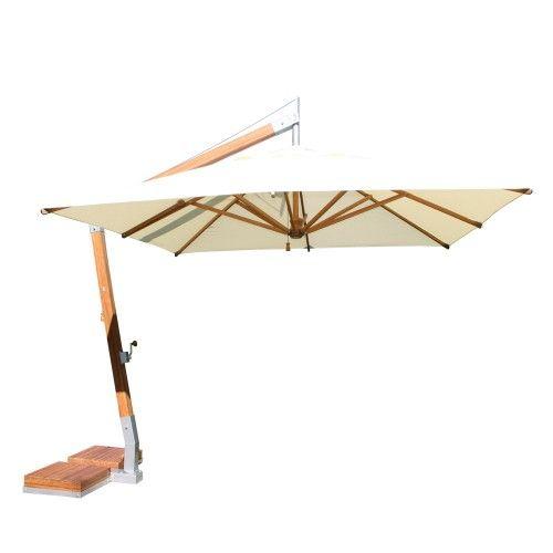 Side Wind Range Rectangular Umbrella by Bambrella | Y Living | $2750