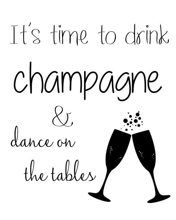 Bachelorette / It's Time to Drink Champagne and Dance on ...