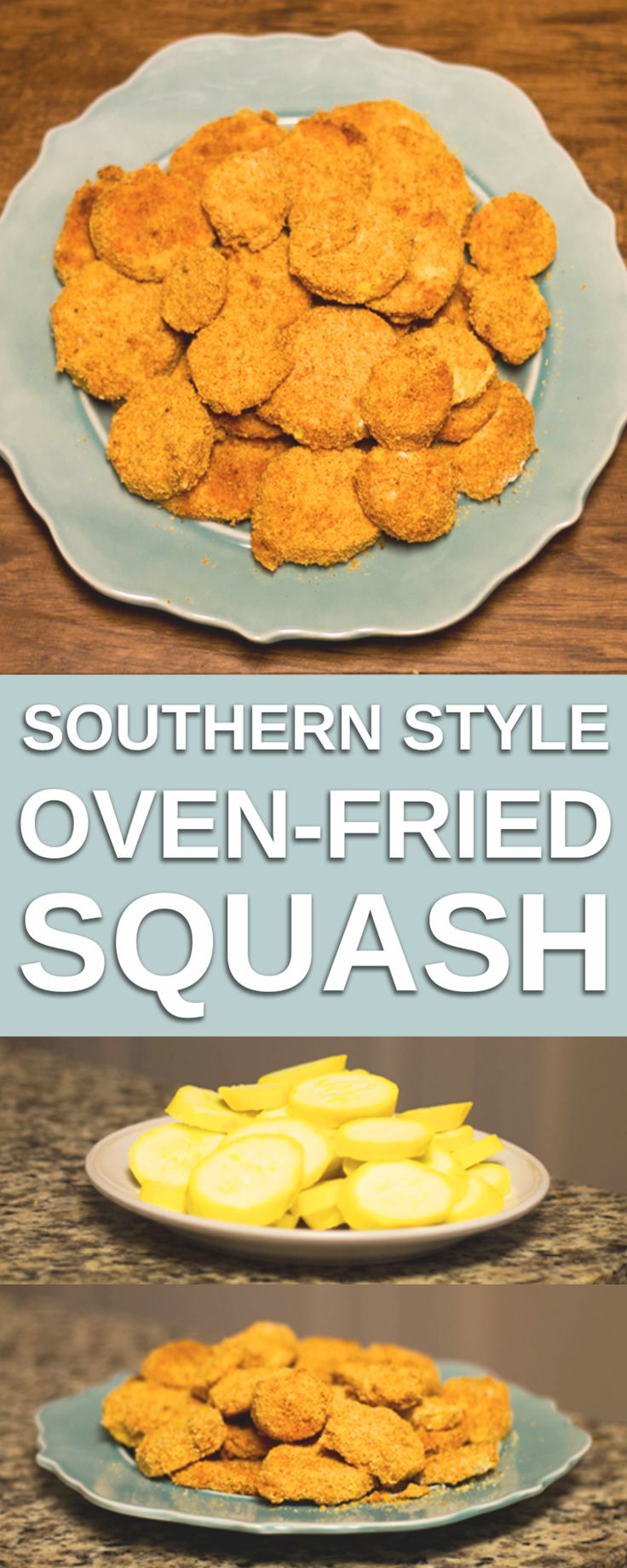 Recipe: Southern Style Oven-Fried Squash! - Style of Change