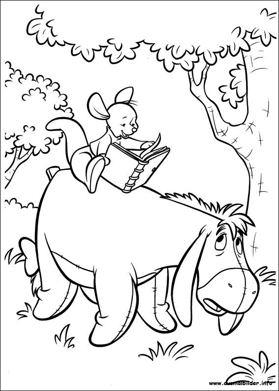 coloring pages for kids all your favorite cartoon stars are here - Disney Baby Piglet Coloring Pages