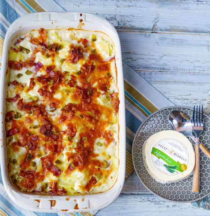 cheesy scalloped potatoes with cream cheese bacon and jalapenos