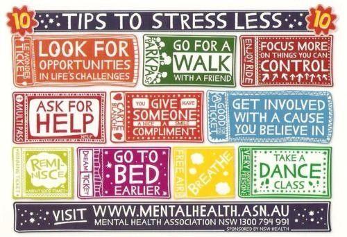 Tips om stress te verminderen