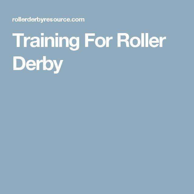 Training For Roller Derby
