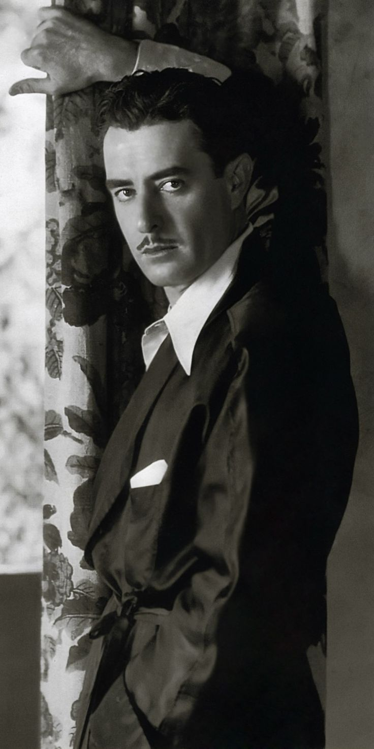 """John Gilbert, popular leading man of the 1920s known as """"The Great Lover."""" His career began to wane with the arrival of talkies."""