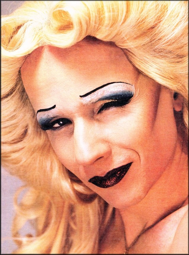 James Cameron Mitchell as Hedwig. Recently saw this on Broadway. Heaven.