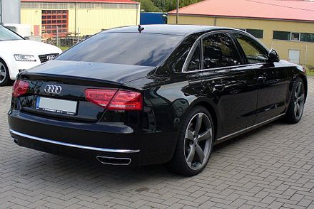 2011 Audi A8 L W12 quattro tiptronic in phantomblack