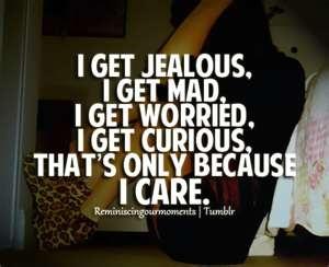Dating a jealous insecure man