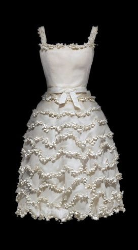 "The ""Muguet"" Lily of the Valley Dress ~ Christian Dior {1954}"